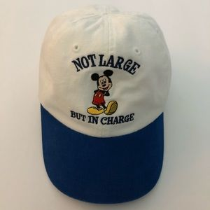 Disney Mickey Not Large but in charge Hat Baby